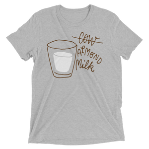 Vegan Shirt - Almond Milk - Athletic Grey