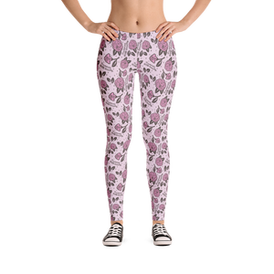 Vegan Leggings - Bunnies before Beauty - Front