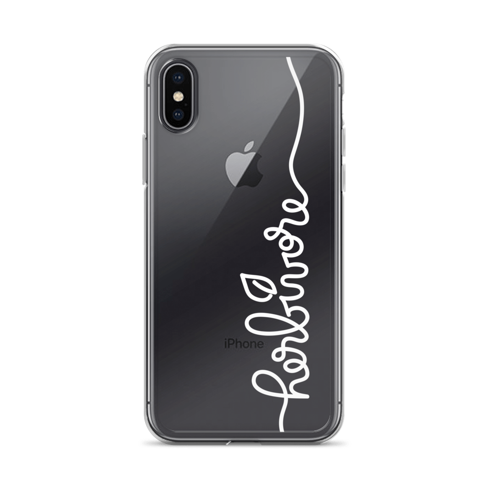 Vegan iPhone Case - Herbivore Leaf - iPhone X