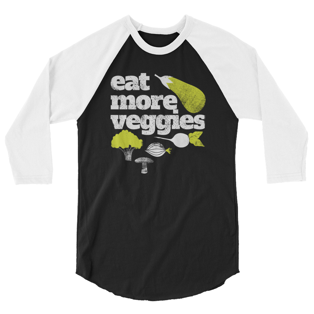 Long Sleeve Vegan Shirt - Eat more Veggies
