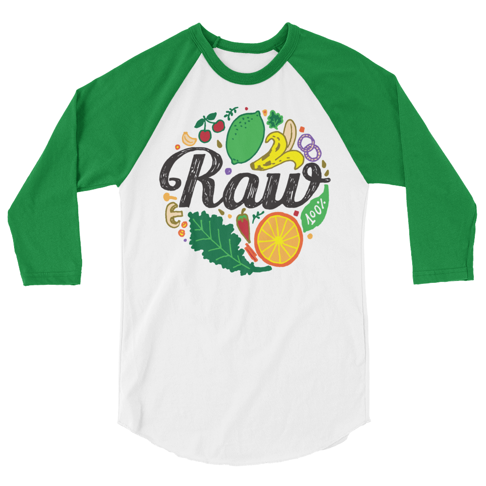 Long Sleeve Vegan Shirt - Raw 100%