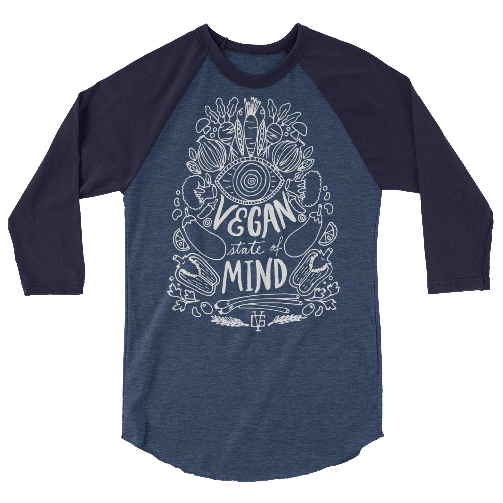 Long Sleeve Vegan Shirt - Vegan State of Mind
