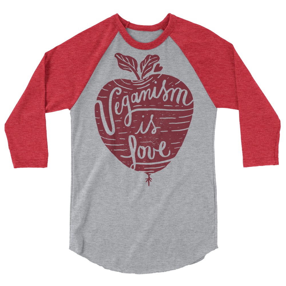 Long Sleeve Vegan Shirt - Veganism is Love