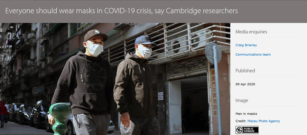 Covid-19: should the public wear face masks?