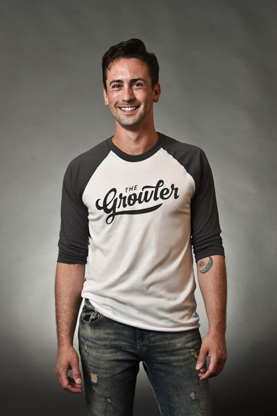 The Growler Logo Baseball Tee