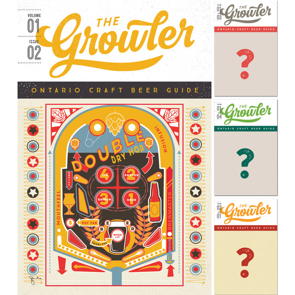 The Growler Ontario Four-Issue Subscription Fall 2018