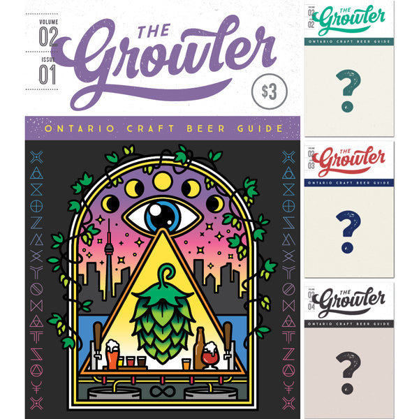 The Growler Ontario Four-Issue Subscription Spring 2019