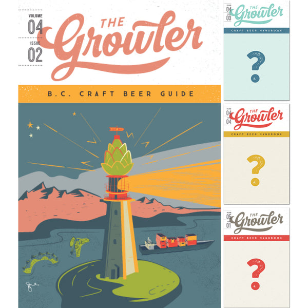 The Growler B.C. Four-Issue Subscription Summer 2018
