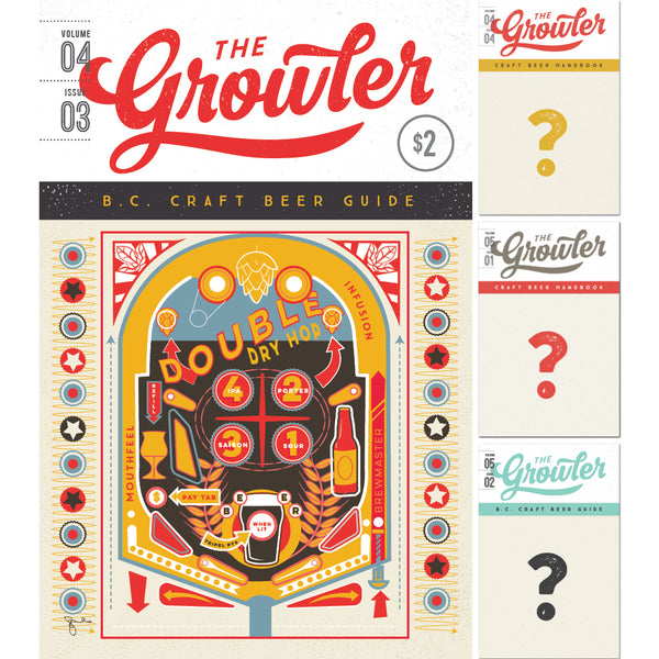 The Growler B.C. Four-Issue Subscription Fall 2018