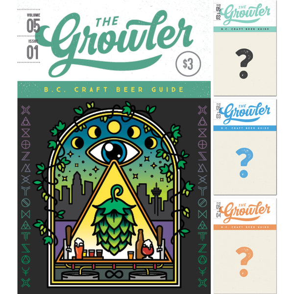 PRE-ORDER: The Growler B.C. Four-Issue Subscription Spring 2019
