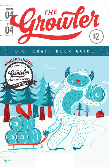 The Growler B.C. Volume 4, Issue 4 (Winter 2018)
