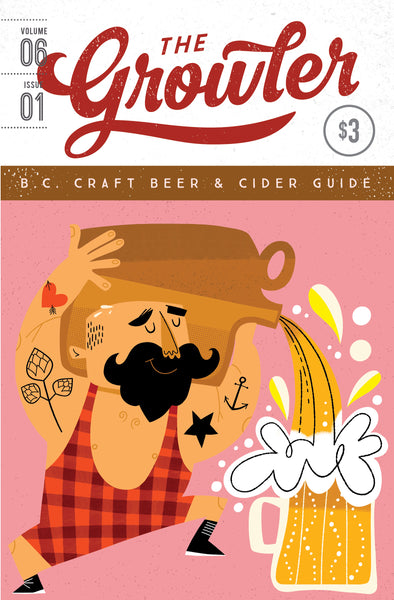 PRE-ORDER: The Growler B.C. Volume 6, Issue 1 (Spring 2020)