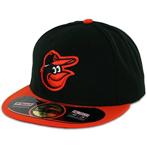 Baltimore Orioles MLB 59Fifty Fitted Cap by New Era (Black-Orange)