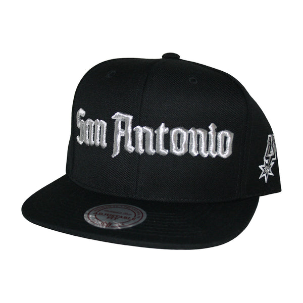 San Antonio Spurs Gothic City Snapback Cap by Mitchell & Ness