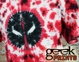 Deadpool Tie Dye Shirt - UNISEX SIZE LARGE