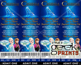 Cinderella 2015 Movie Birthday Party Invitation Custom