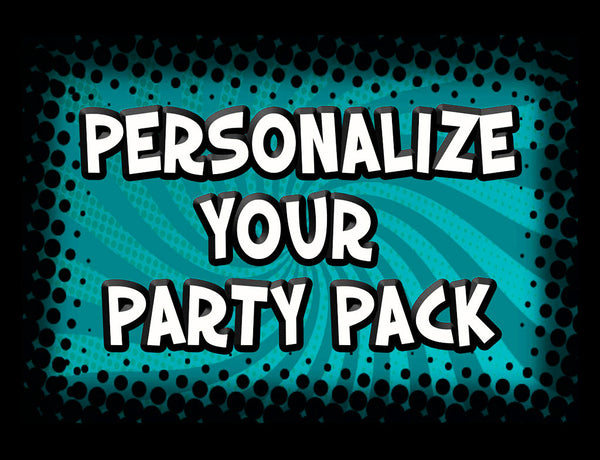 Personalize Party Pack with Name & Age