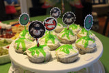Slime Labels and Cupcake Toppers inspired by Ghostbusters Printable