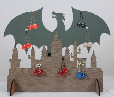 RPG Dice Earrings