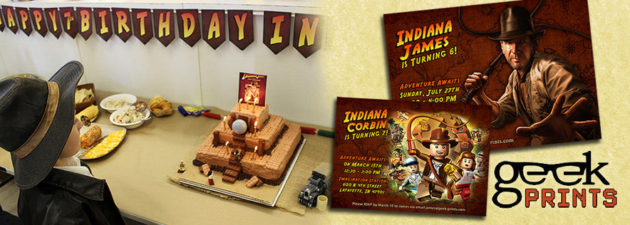 Indiana Jones Ultimate Party Pack