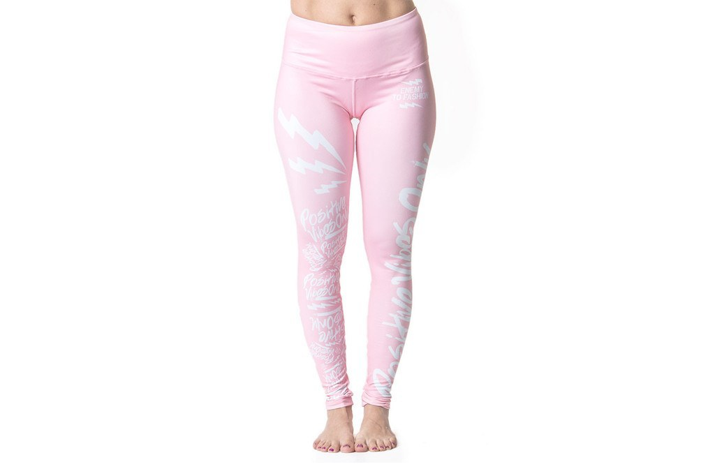Bottoms - Bubble Gum Vibes Yoga Pant