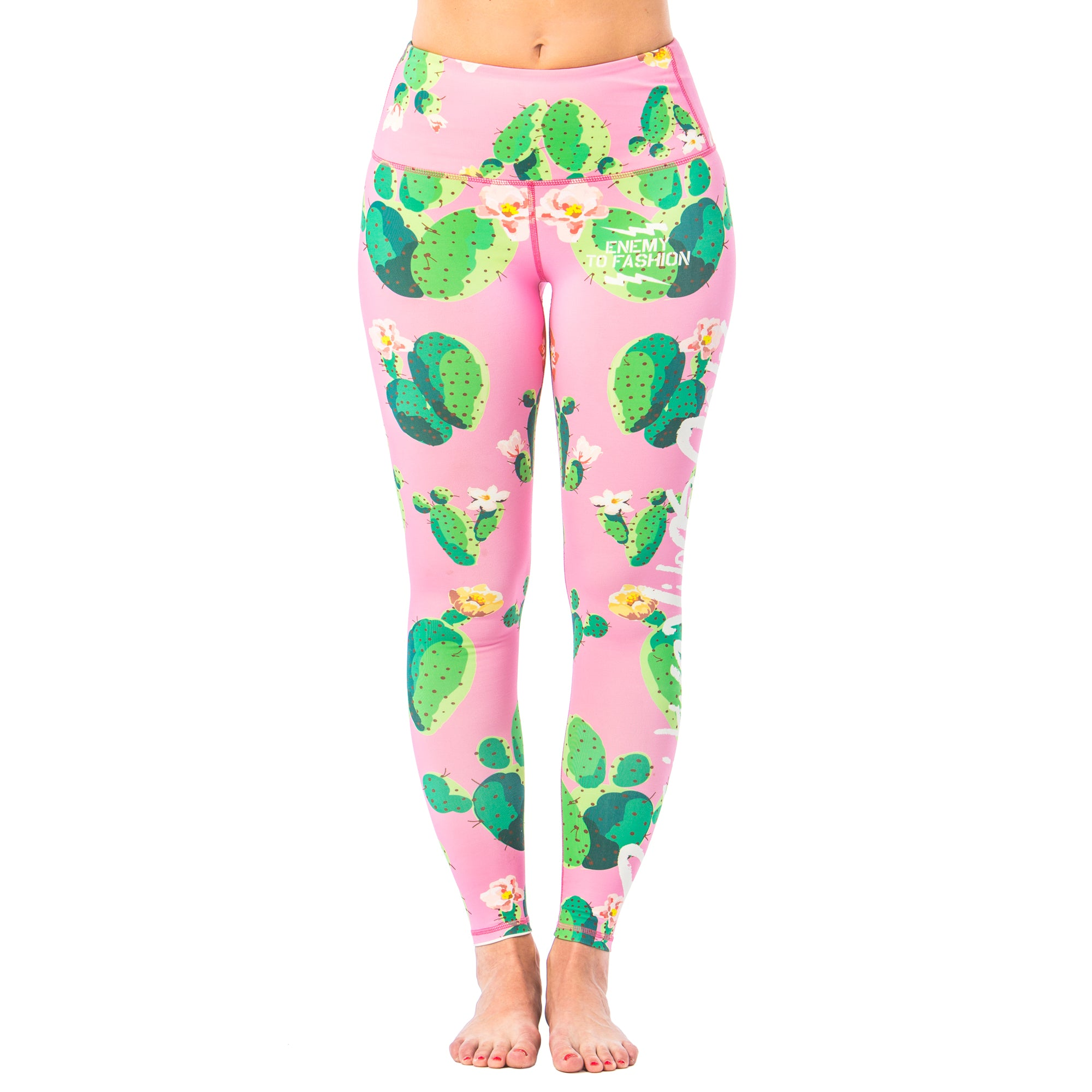 Prickled Pink Yoga Pants - PRE ORDER
