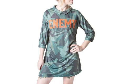 Dress - Fractured Camo Mini Mod Dress