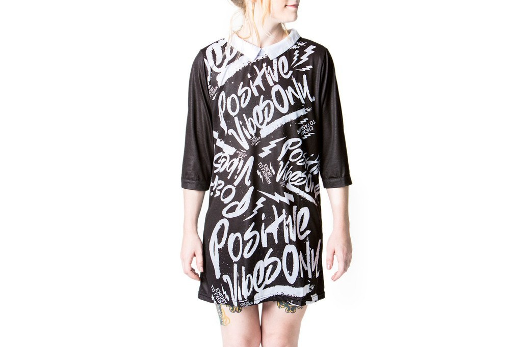 Dress - Goth Vibes Mini Mod Dress