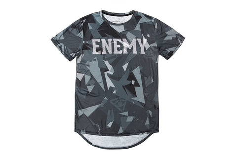 Fractured Camo Signature Tee - Arctic Glitch