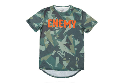 Fractured Camo Signature Tee - Green