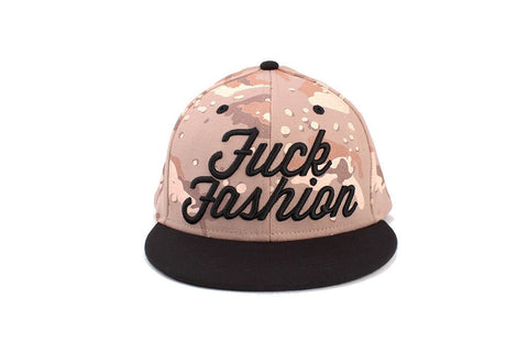 FASHION WEEK Snapback Hat - Olive/Black
