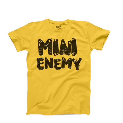 "Mini Enemy ""Monster"" kids shirt"