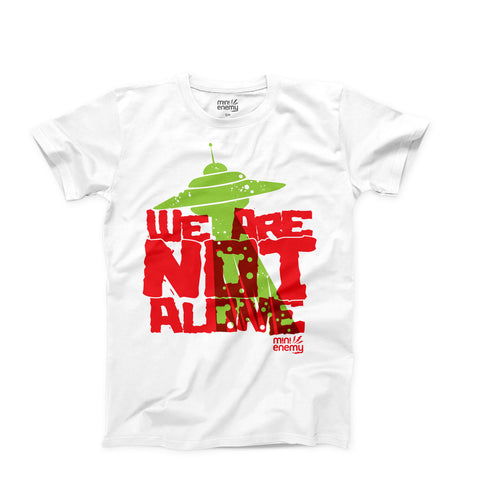 "Mini Enemy ""We Are Not Alone"" kids shirt"