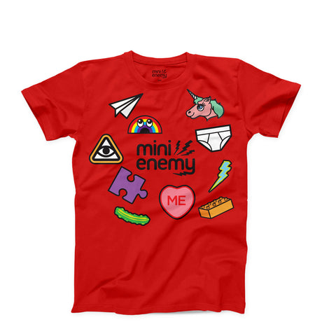 "Mini Enemy ""Stuff"" kids shirt"