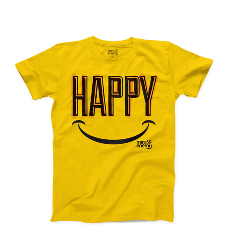 "Mini Enemy ""Happy"" kids shirt"
