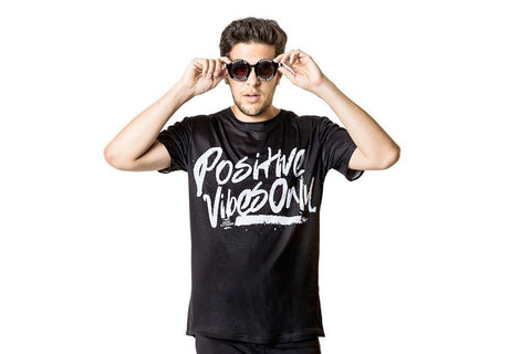 Positive Vibe Signature Tee - Black