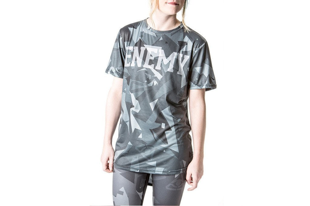 Shirts - Fractured Camo Signature Tee - Black