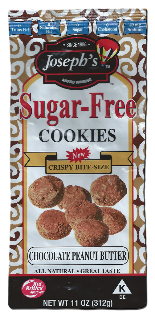 Sugar-Free Chocolate Peanut Butter Cookies 11oz