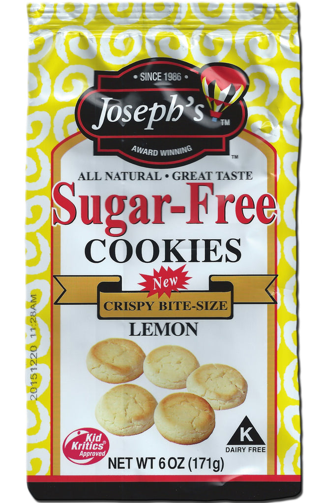 Sugar-Free Lemon Cookies 6oz