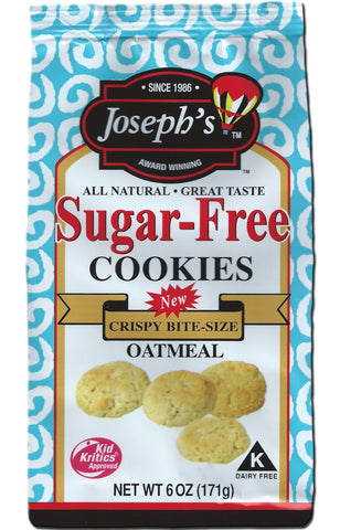 Sugar-Free Oatmeal Cookies 6oz