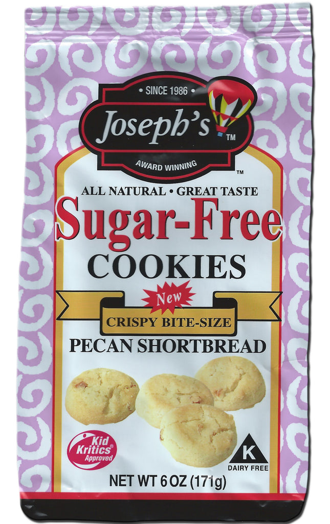Sugar-Free Pecan Shortbread Cookies 6oz