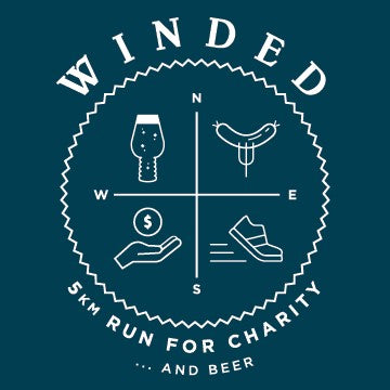 Four Winds Presents WINDED 5K Run for Charity... and Beer