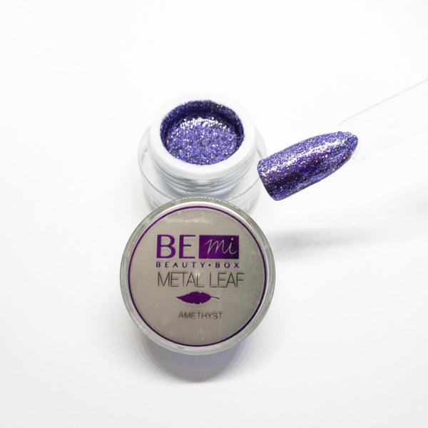 BEmi | Metal Leaf Gel | Amethyst