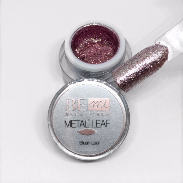 BEmi | Metal Leaf Gel | Blush