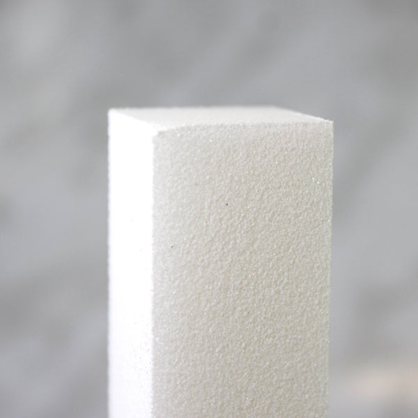 White Buffer Block