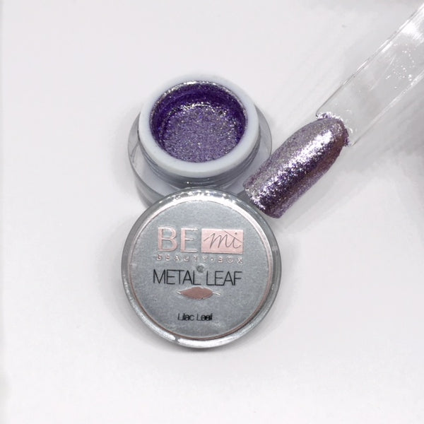BEmi | Metal Leaf Gel | Lilac
