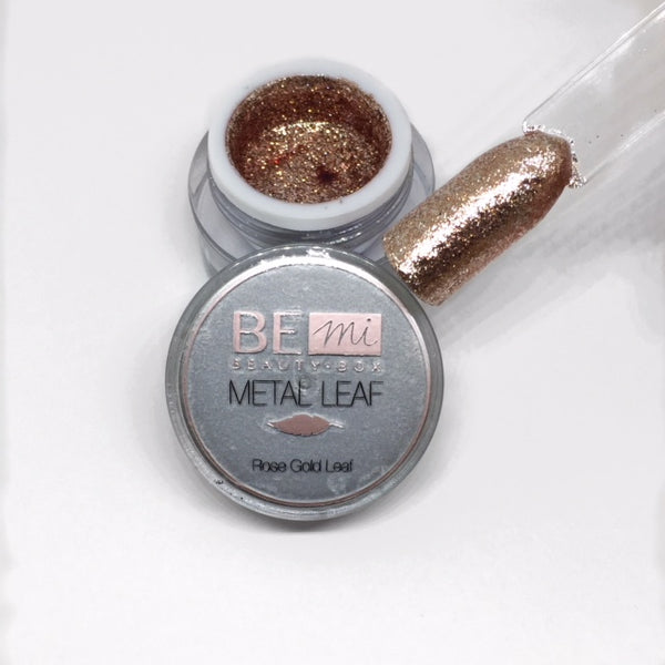 BEmi | Metal Leaf Gel | Rose Gold