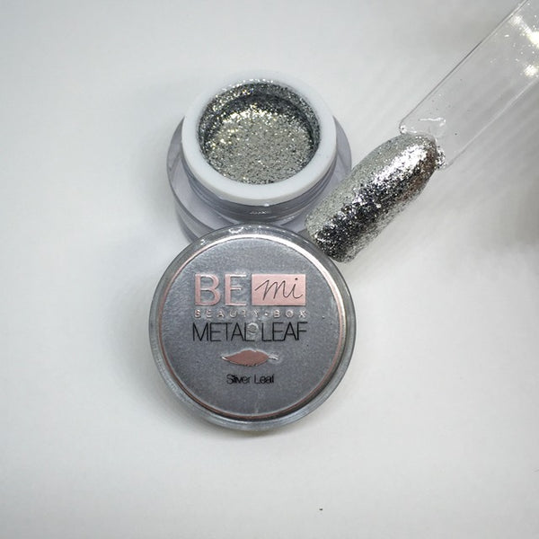BEmi | Metal Leaf Gel | Silver