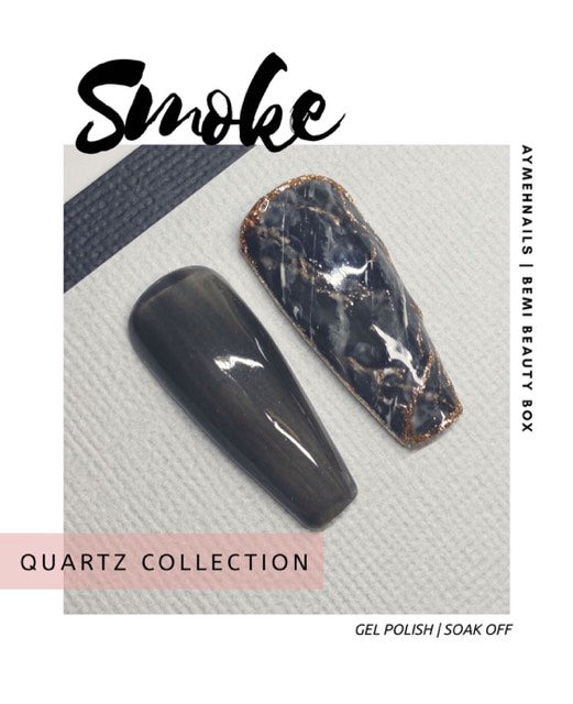 Quartz Gel Polish - Smoke | BEmi