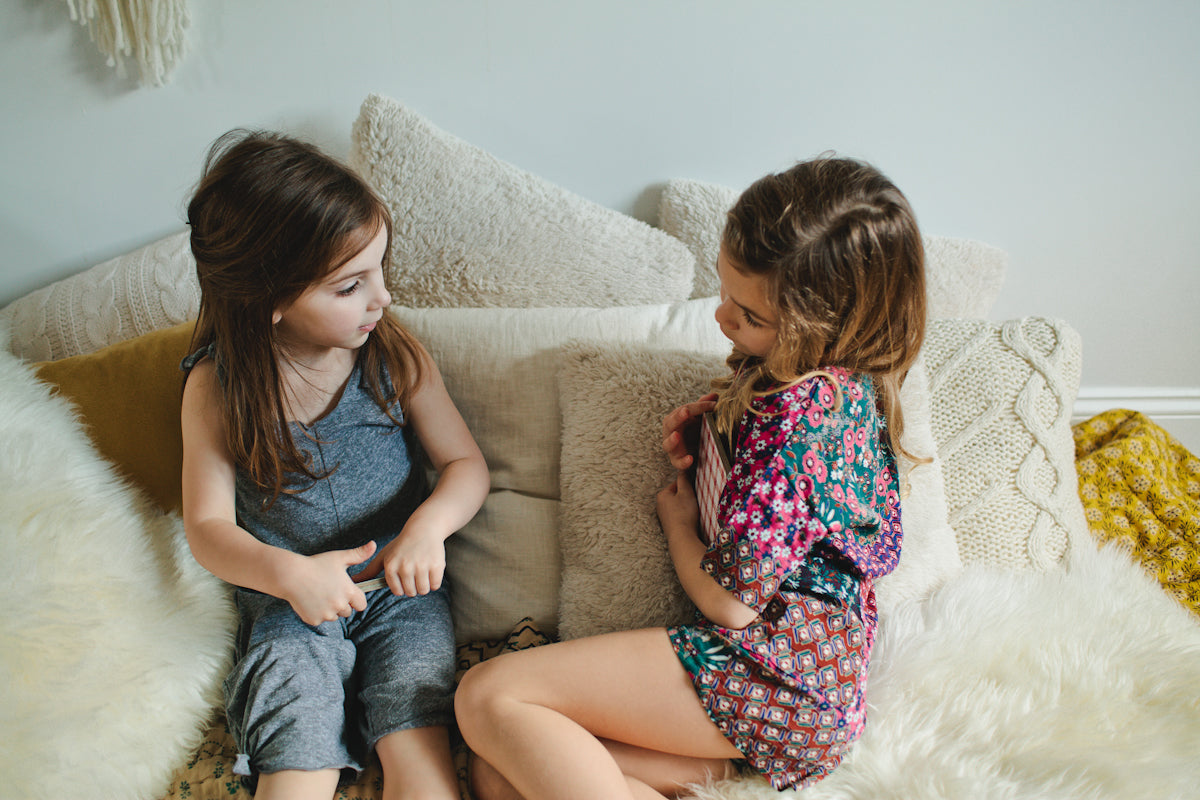 Ode to Jeune, Girls' Jumper made in Los Angeles